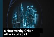 6 Noteworthy Cyber Attacks of 2021 - My Geek Score